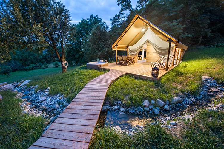 Glamping tents M