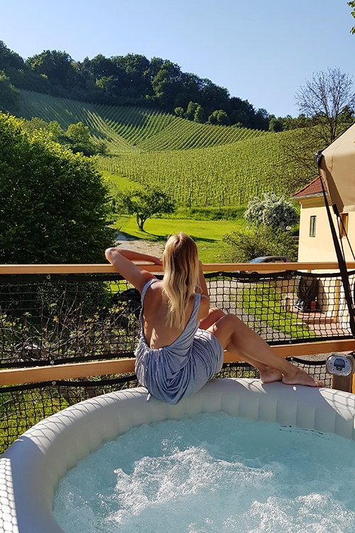 vineyard glamping slovenia chateau ramsak