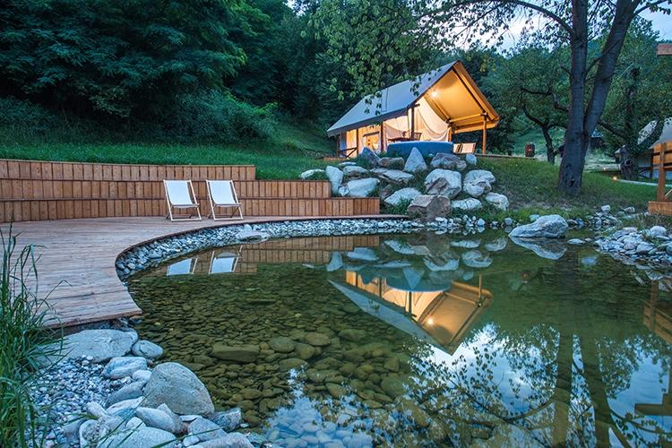 glamping resort slovenia